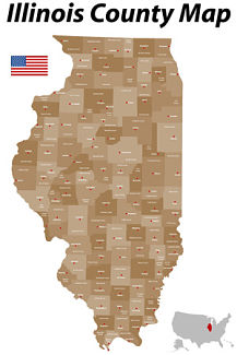 illinois county map, lake county attorney _opt